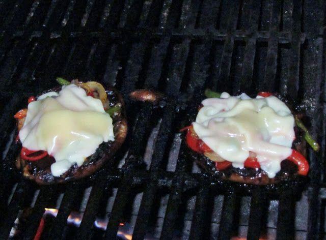 Live Light. Eat Right.: Marinated & Stuffed Portabella Mushrooms