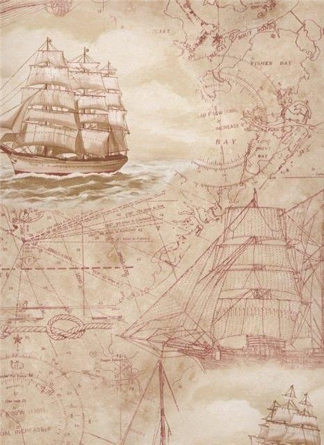 Открытки с кораблями антикварные