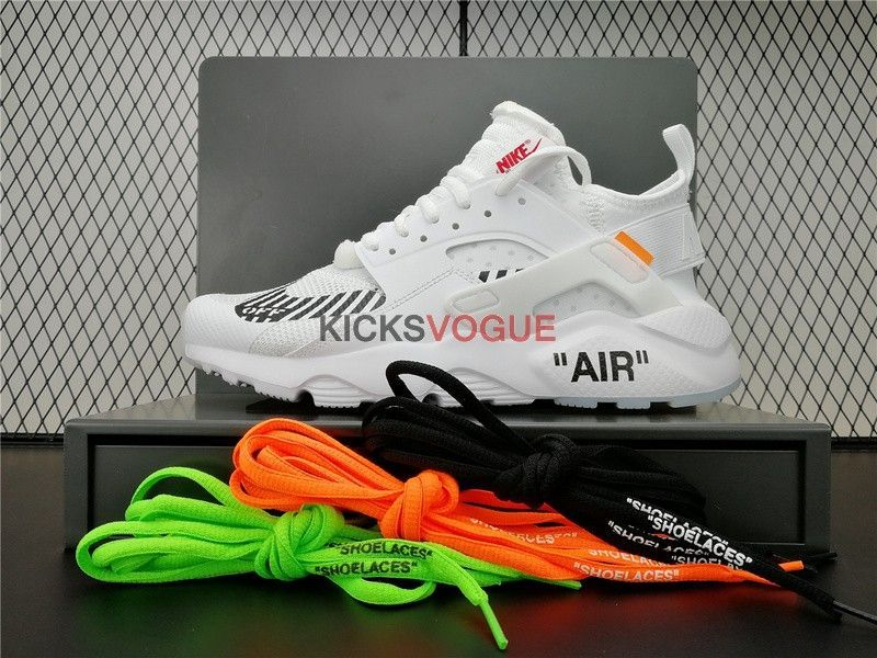 654d9a020995 CUSTOM OFF-WHITE X NIKE AIR HUARACHE RUN ULTRA - Off-White