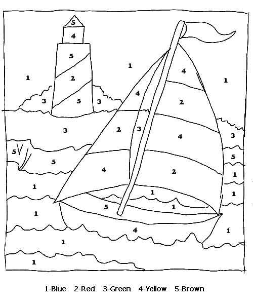music coloring pages by numbers - photo#12