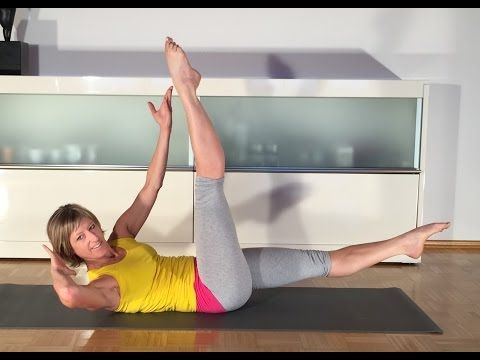 Bauch intensiv workout 2015 Gabi Fastner - YouTube #pilatesworkoutvideos