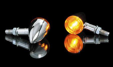 Blinker BULLET-LIGHT, verchromt, Paar, E-gepr.    39 €