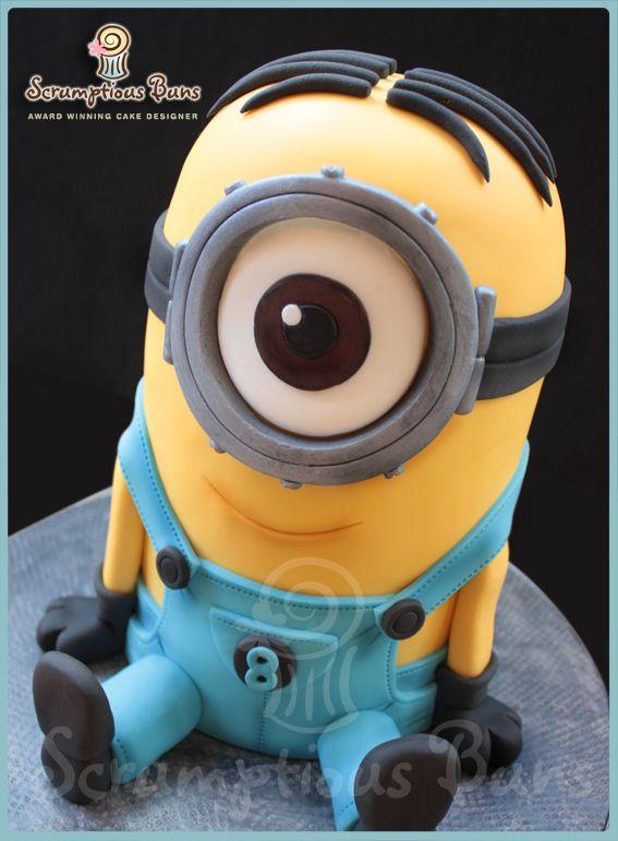Minion Birthday Cake Scrumptious Buns Uk Cakes For Children