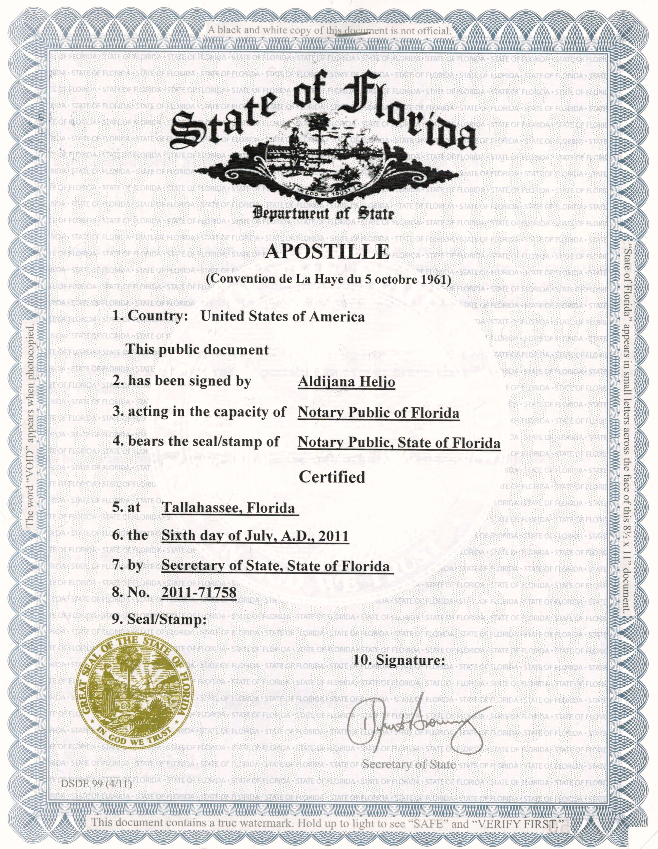 Website apostille portfolio notary apostille service inc legalization or certification of authority images by notary apostille service xflitez Choice Image