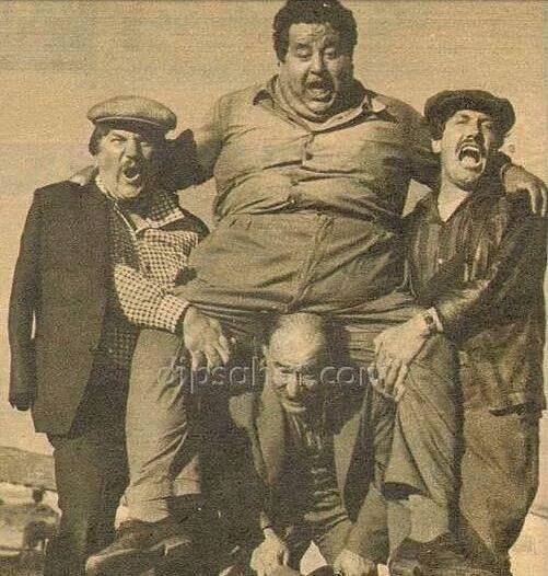 Film setinde girdikleri iddia üzerine 160 kiloluk Necdet Tosun'u ...