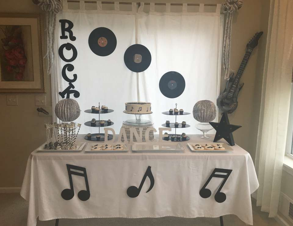 Music Birthday Rock Star Birthday Party Ideas Party Music