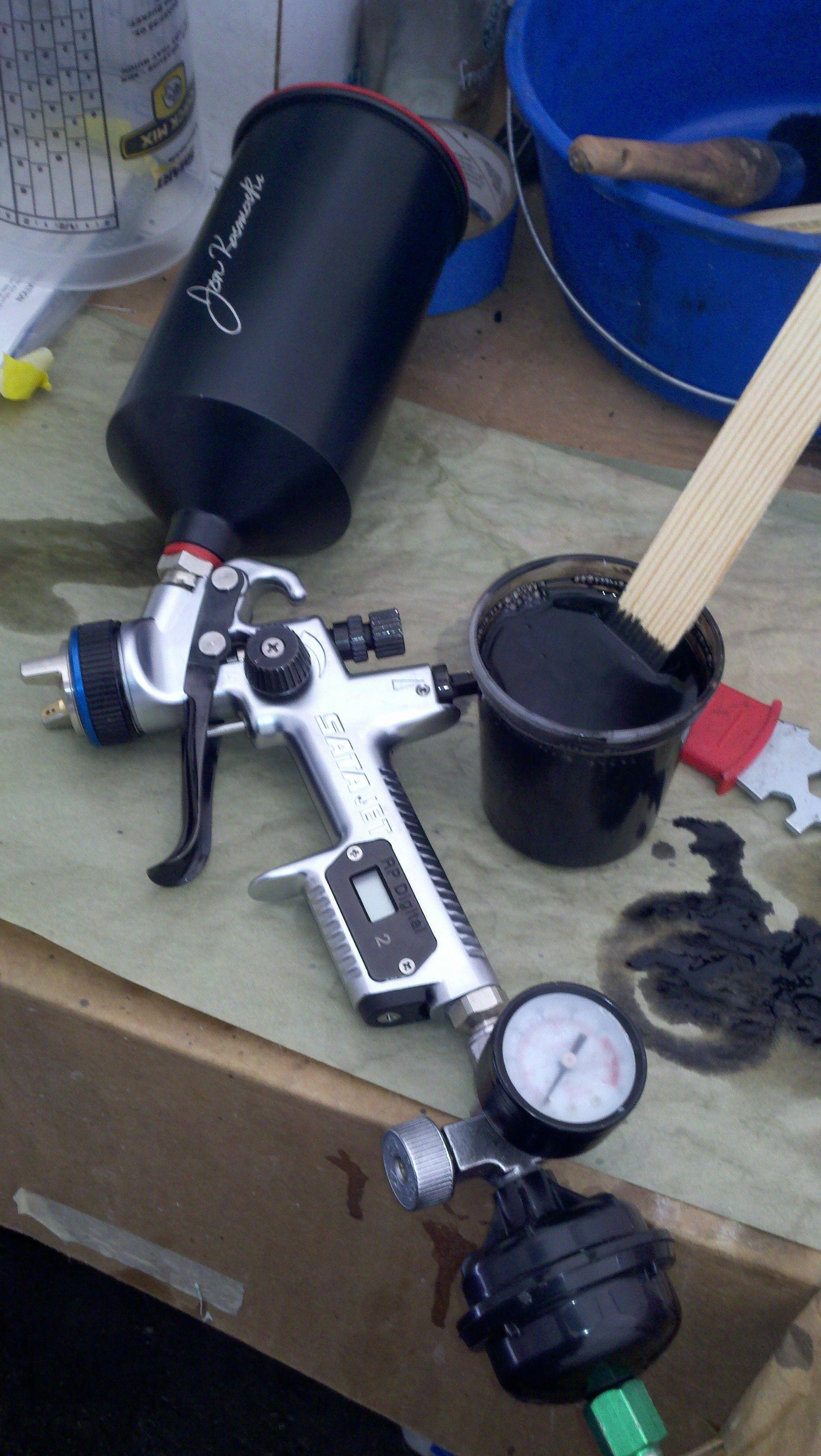 Satajet My tools of the trade Paint Automotive spray paint