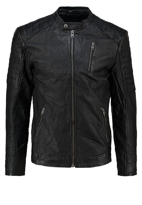 a268896304fce JJVRICHARD - Lederjacke - black in 2019