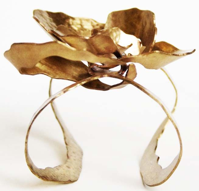 Brass Corsage by Anhdao Nguyen