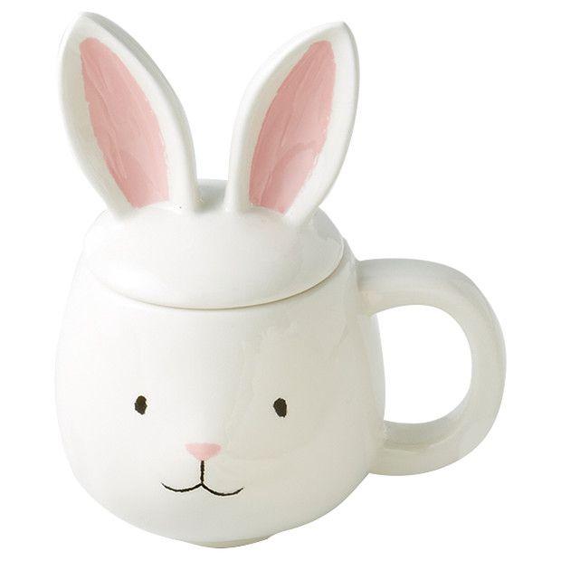 LTD Bunny Mug with Lid