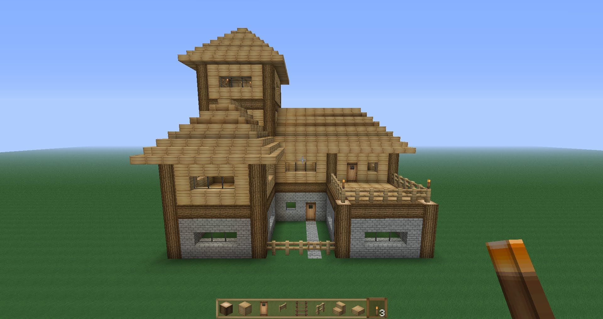 Minecraft - survival -house-339141631 link to a new and