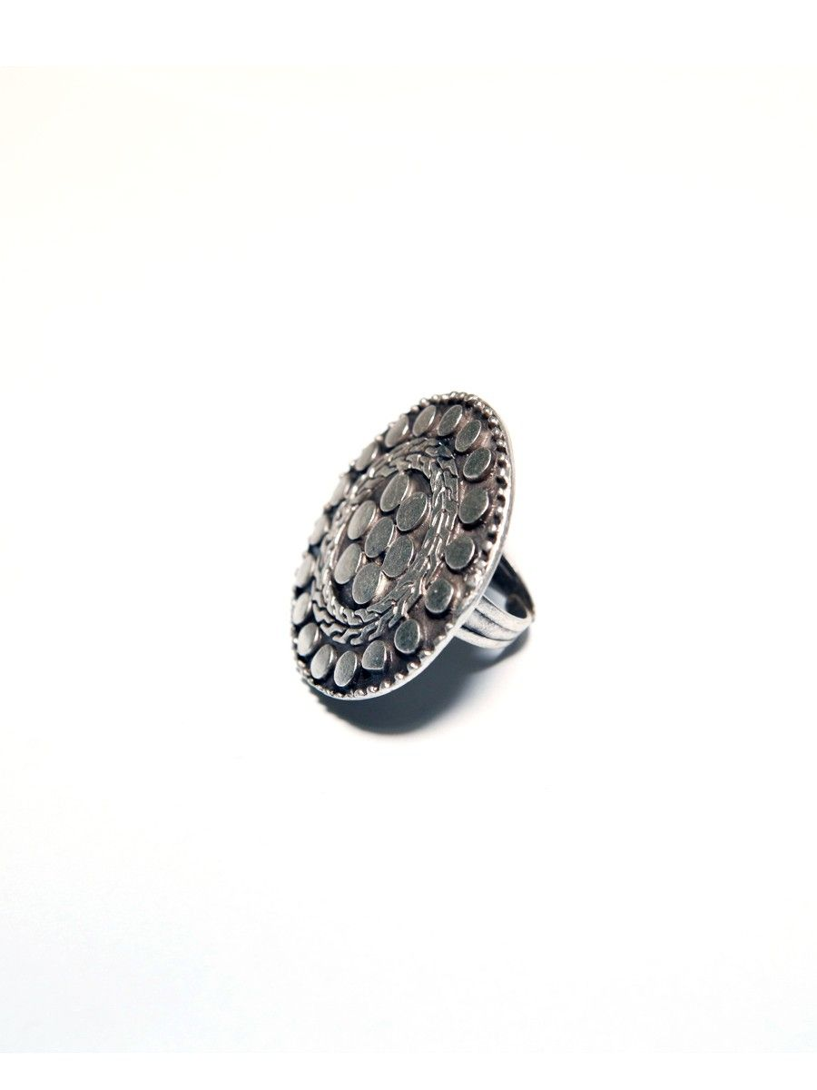 Natalie B Jewelry Helen Of Troy Ring in Silver  Troy Ring and