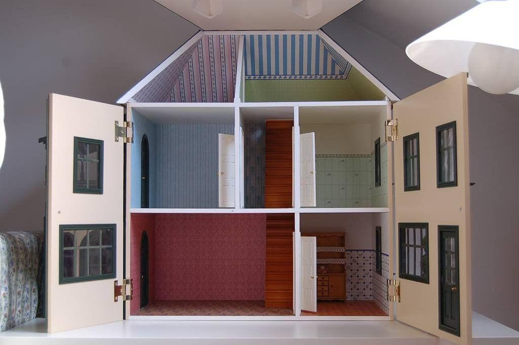 Bricolaje Casas De Muñecas Casa Moderna De Muñecas Casa De Muñecas