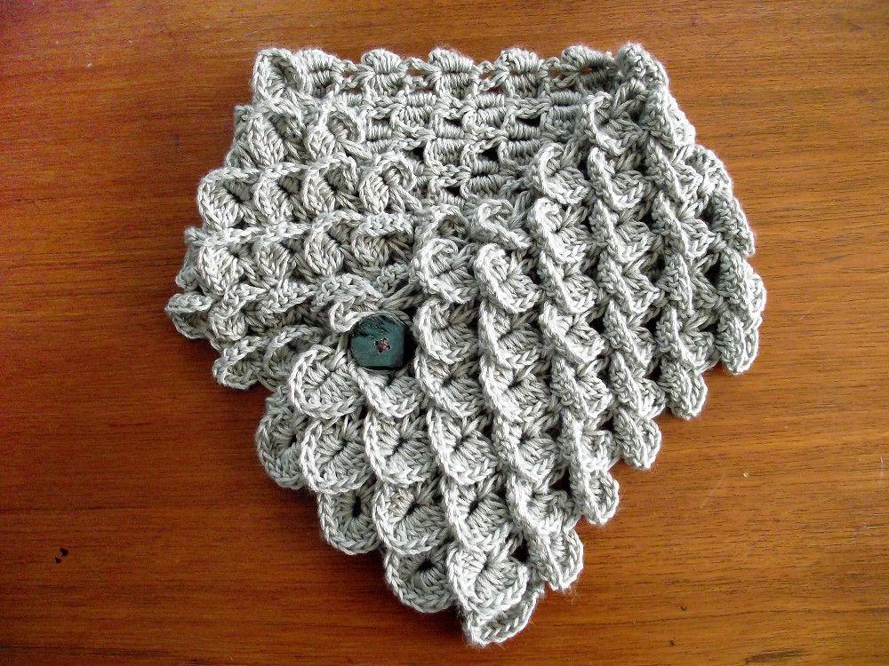 Crocodile stitch scarf. I am SO making this! | Crochet | Pinterest ...