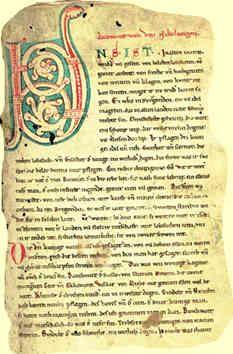 Manuscrito Del Cantar De Los Nibelungos Seres Fantásticos Lendas Mitologia