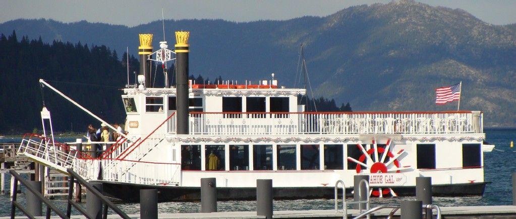 Lake tahoe boat ridebeautiful view emerald bay and