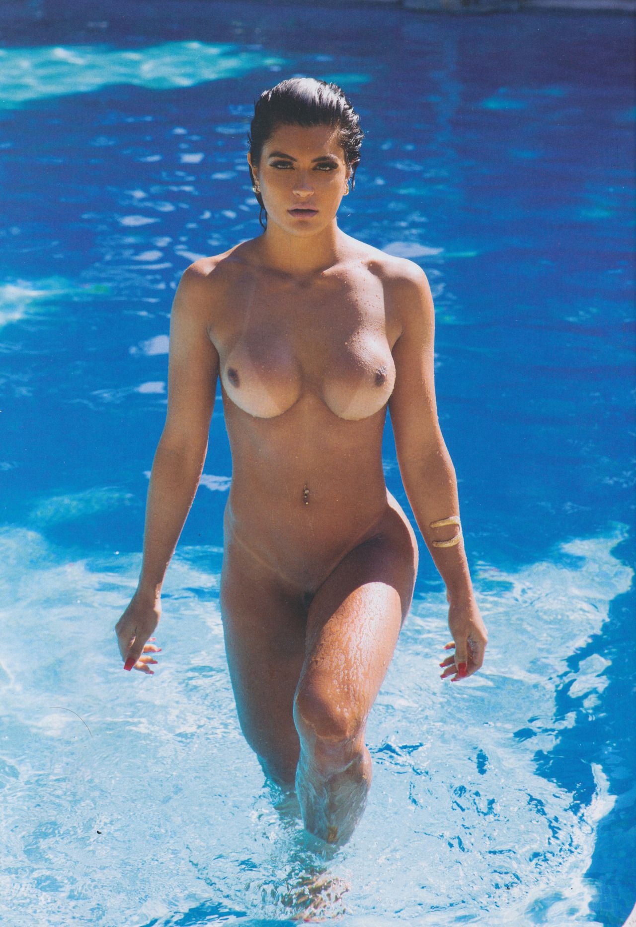 Nude Male Olympic Swimmer