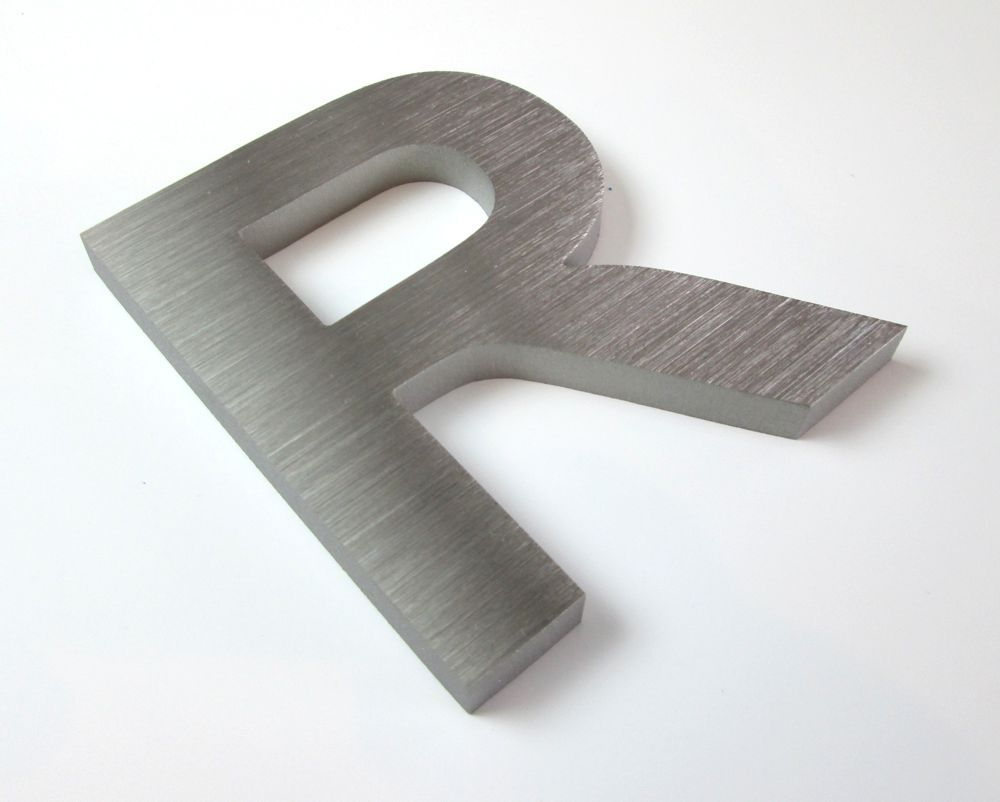 10mm Thick Brushed Stainless Steel Letters Metal Letters Metal Letters Brushed Stainless Steel Metal