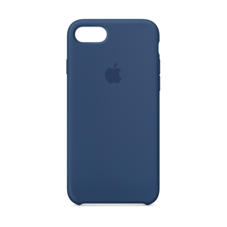 Apple Silicone Case For Iphone 8 Iphone 7 Blue Cobalt Walmart Com Silicone Iphone Cases Iphone Cases Silicon Case