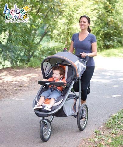 b36ca27ca Coche Graco 3 ruedas, lo que necesitas para salir de paseo y ejercitarte  con tu