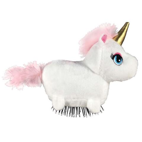 "Tangle Pets™ Brush In a PlushSparkles the Unicorn ""As"