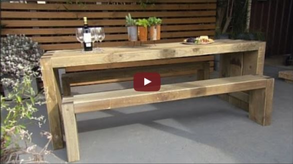 how to build diy custom table and bench seats with dovetail joints rh pinterest com