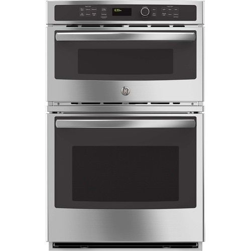 Ge Self Cleaning Microwave Wall Oven Combo Stainless Steel 27