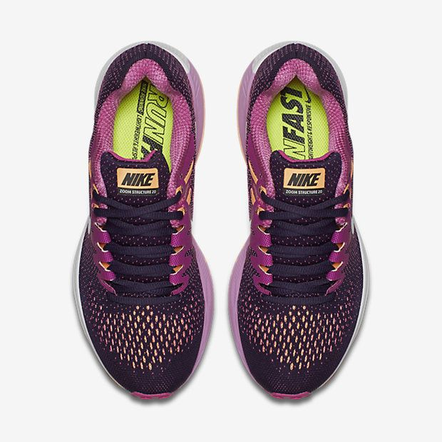 wholesale dealer 84c90 d5eab ... denmark nike air zoom structure 20 womens running shoe 14123 5a072