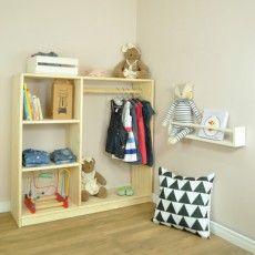Closet Infantil Montessori!