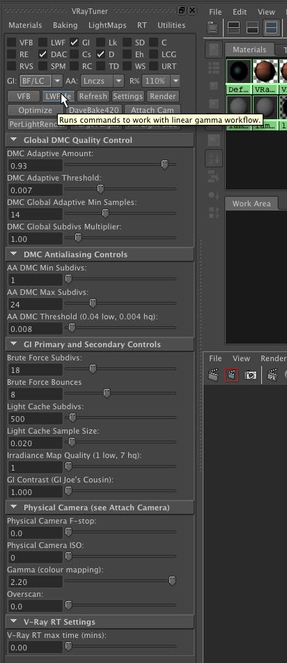 V-Ray Tuner for Maya - Maya Script