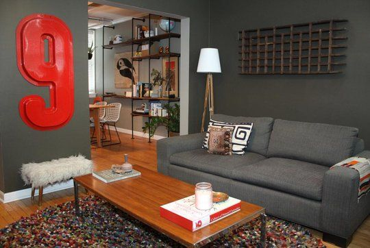 love everything in this house tour. it's just as a*t describes it: industrial but cozy.