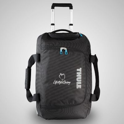 3f27a38a4d83 The Thule Crossover Rolling Duffel has a divided main compartment that  keeps clean-from-dirty