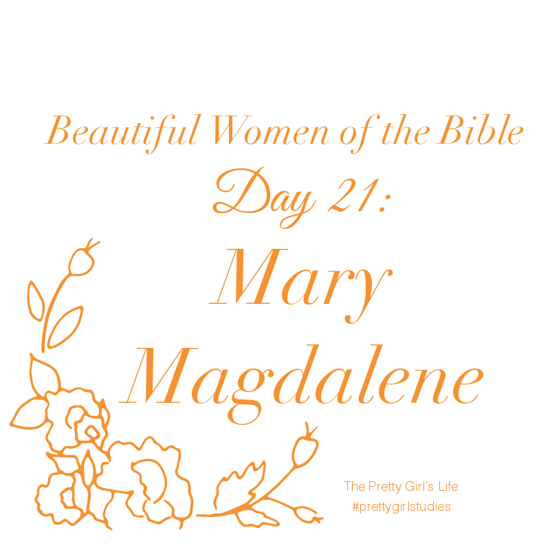 In Mary's life we can see just how Christ can heal and change someone. He delivered Mary's tormented soul and healed her of all her afflictions..His love and compassion toward her changed her life and led Mary to become a faithful,sacrificial follower. So grateful for her deliverance, Mary practiced her faith by following Jesus and helping Him and his disciples out of her financial means and taking care of their physical needs. Her gratitude and love manifested itself in her devotion to…