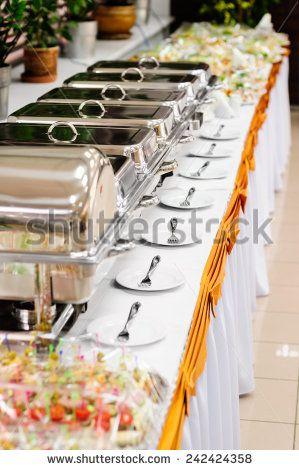 Catering Wedding Stock Photo Wedding Catering Buffet Buffet Food Buffet Set