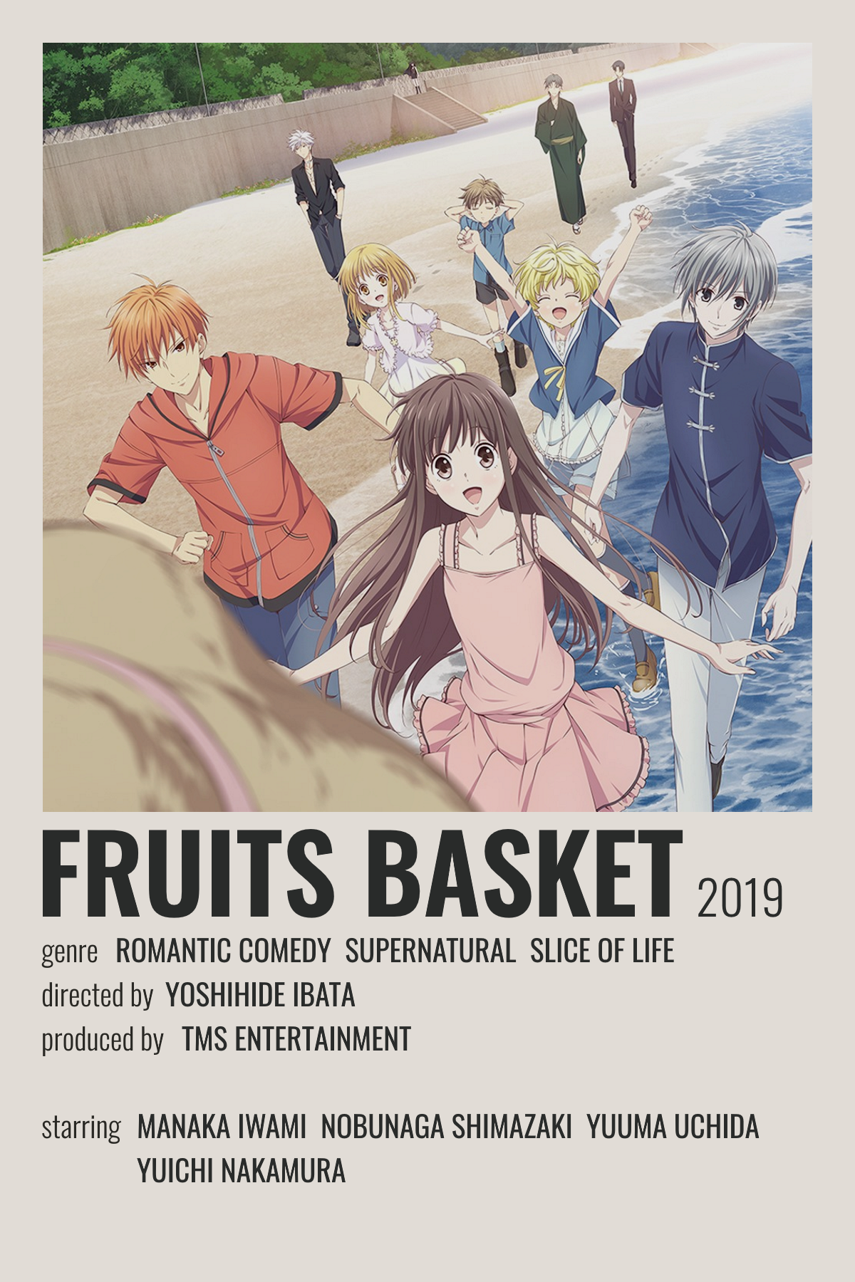 fruits basket poster in 2021 anime