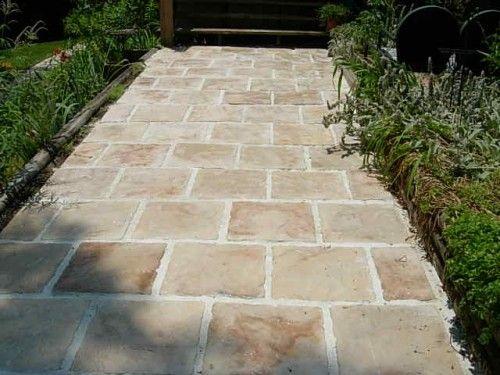 Make 12x12 Stone Castle Stone Kit With All Supplies 12 Concrete Molds Pavers Diy Diy Patio Patio Stones