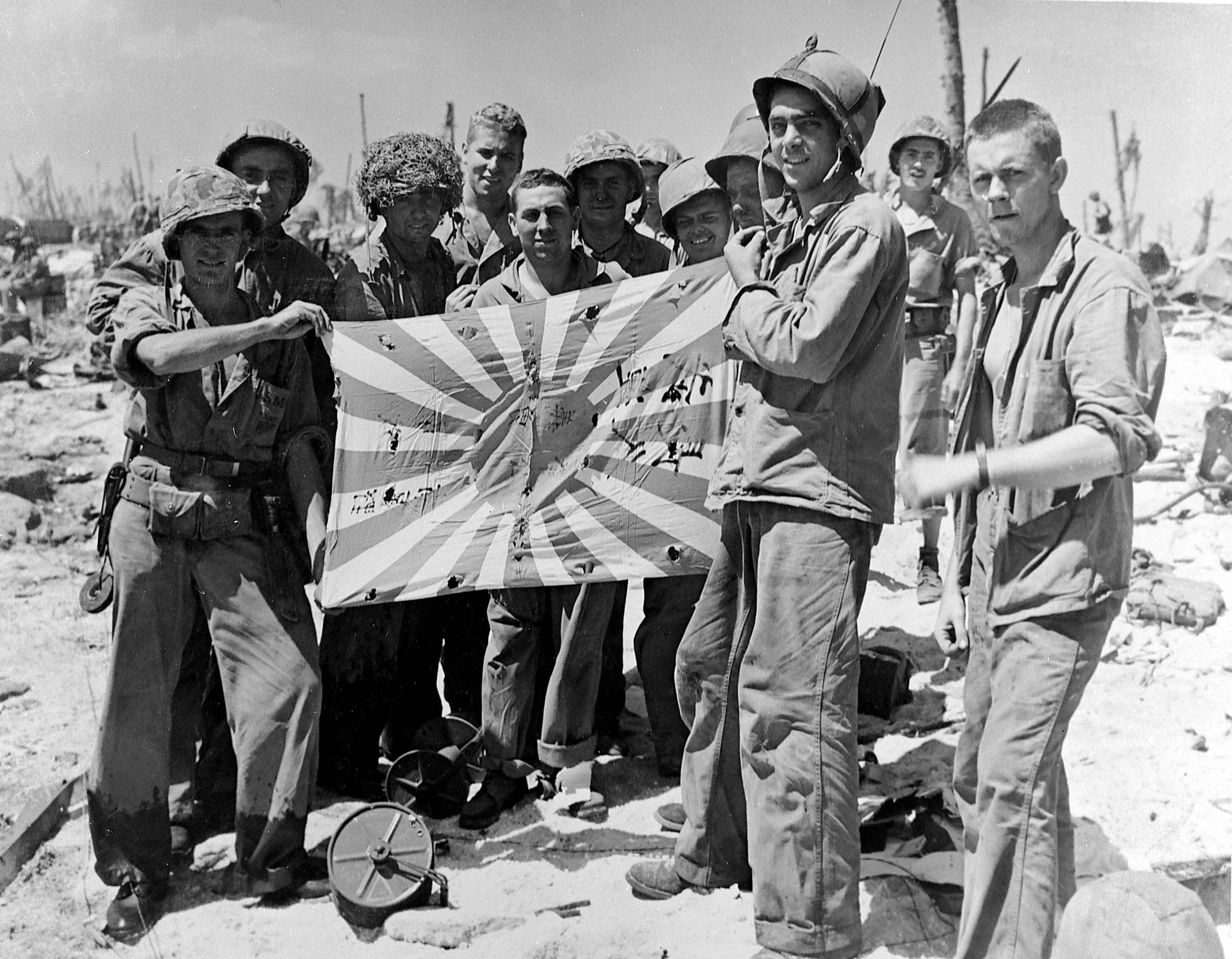This Day In Wwii History Feb 17 1944 U S Troops Land