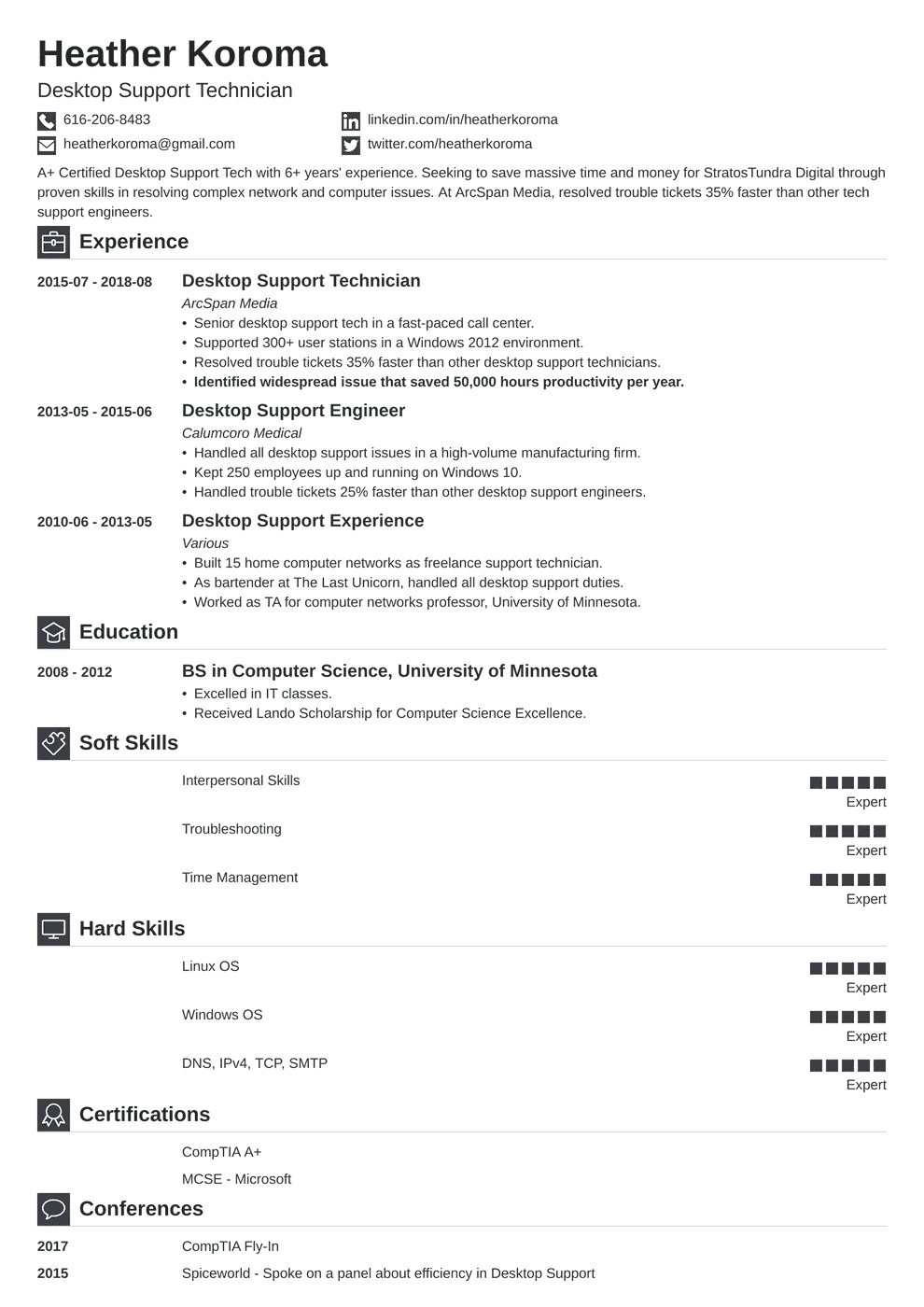 bookkeeper resume template iconic in 2020 Resume