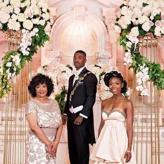 Ray J and Princess wedding | Wedding Color Schemes | Bridesmaid