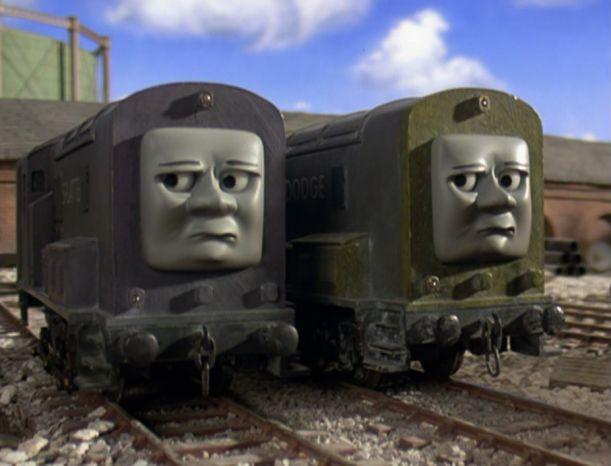Thomas, His Friends, Lion Sculpture