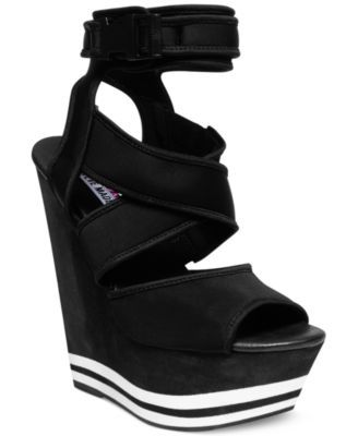 6c6cf1362eb Steve Madden by Iggy Azalea Paatra Platform Wedge Sandals