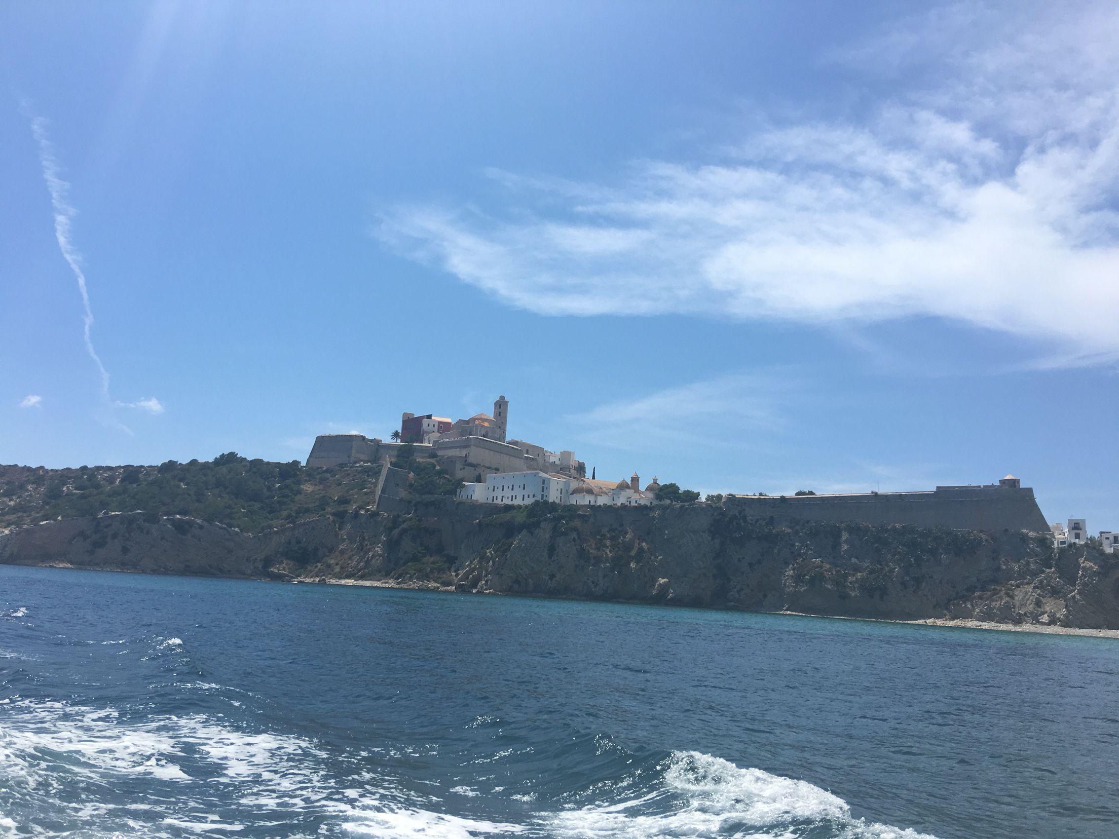 Boat trip, Old Town, Ibiza