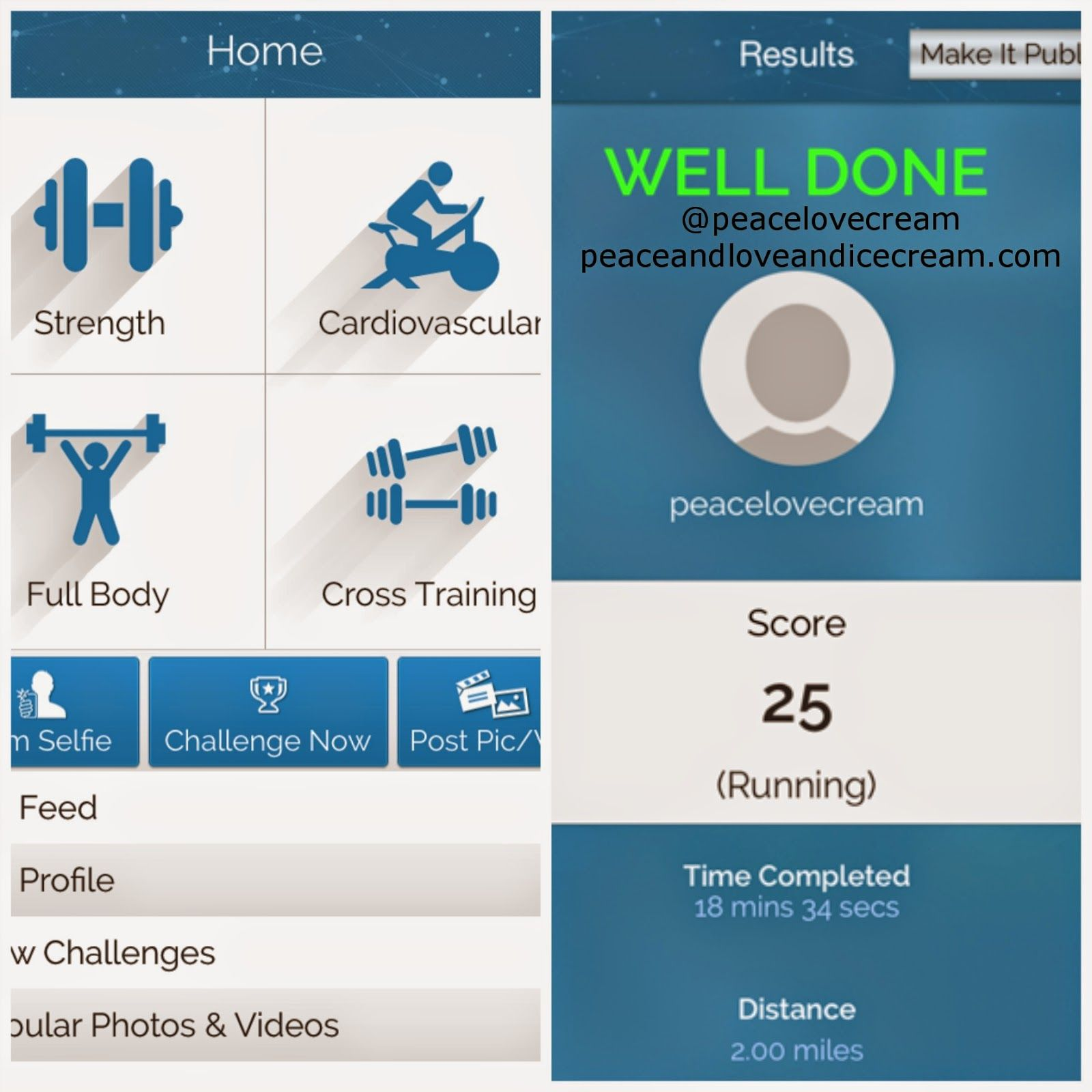 Review of the new fitness app, The Fitness Games. Pros and