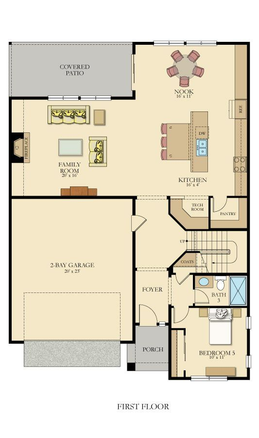 Marquam New Home Plan In Norwegian Hollow New House Plans House Plans New Homes