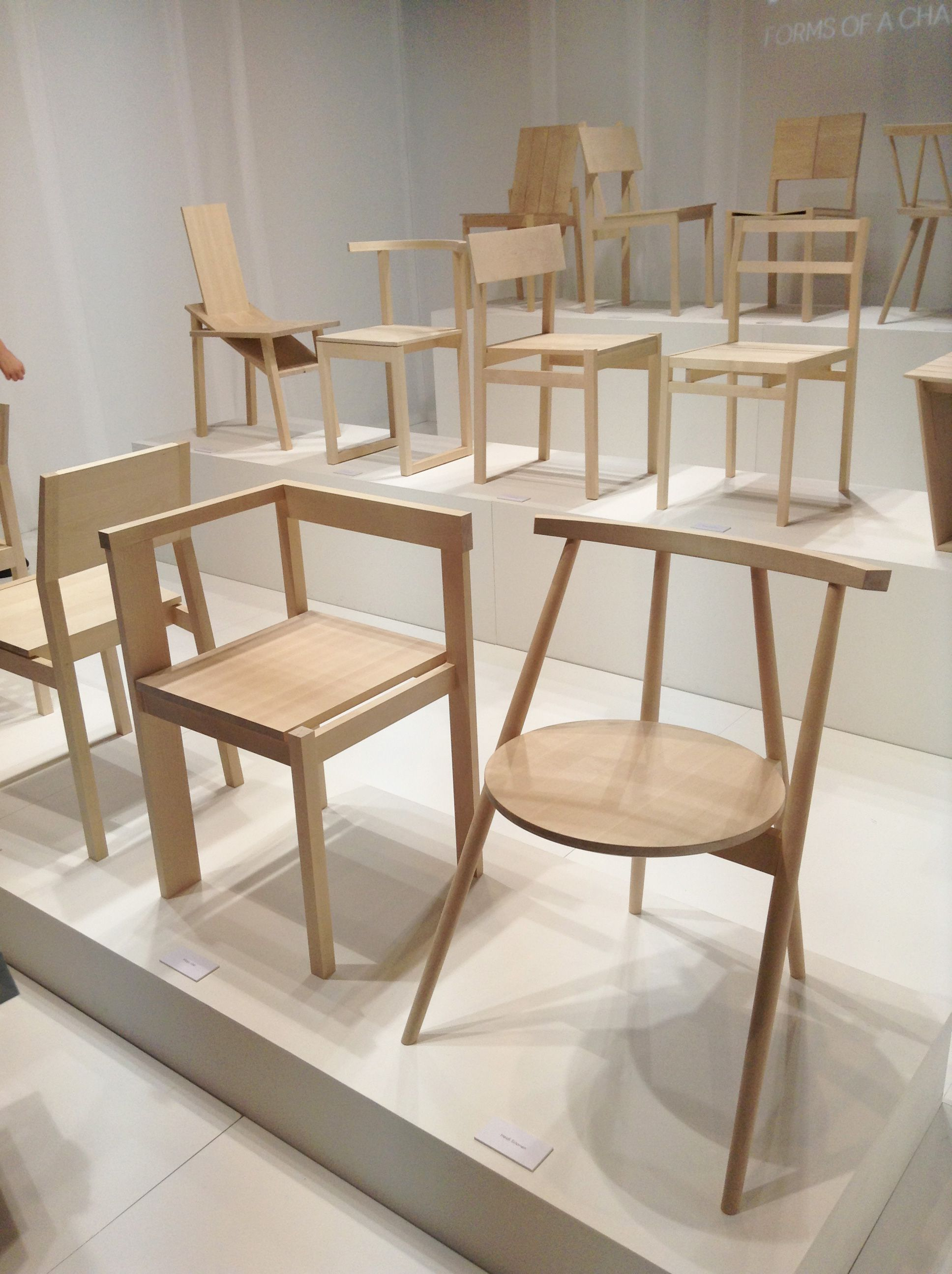 Stockholm Furniture Fair 2013   Chairs. Karimoku New Standard by Isolation Unit and others   Japanese