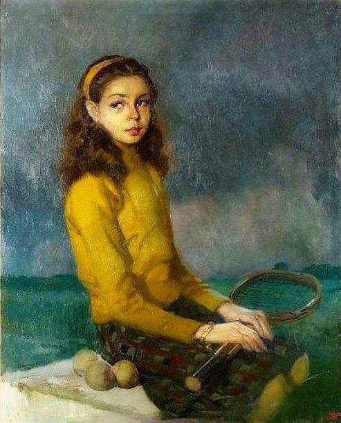José Bardasano Baos (1910 – 1979, Spanish)   I AM A CHILD