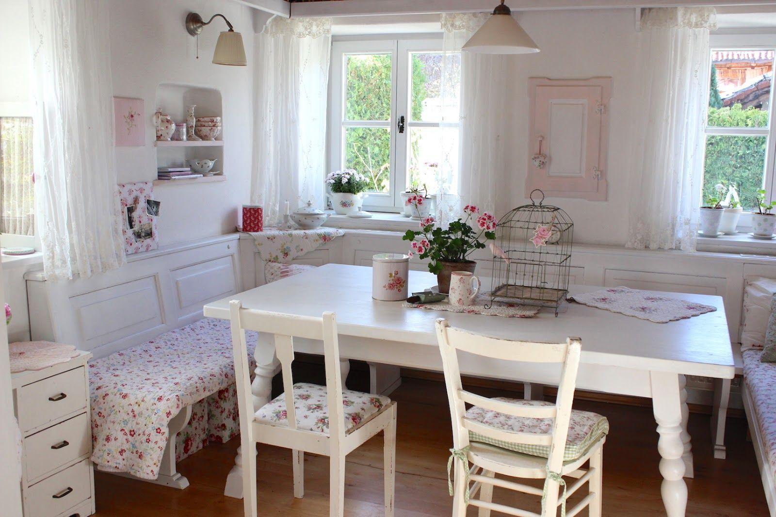 Pünktchenglück pastel cottage pinterest best kitchen seating