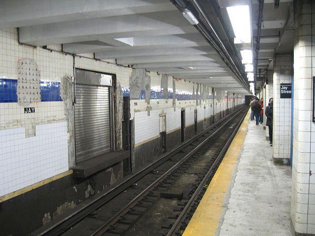 Jay Street Door for Money Train-MTA-NYC. The crashgate to the money & Jay Street Door for Money Train-MTA-NYC. The crashgate to the money ...