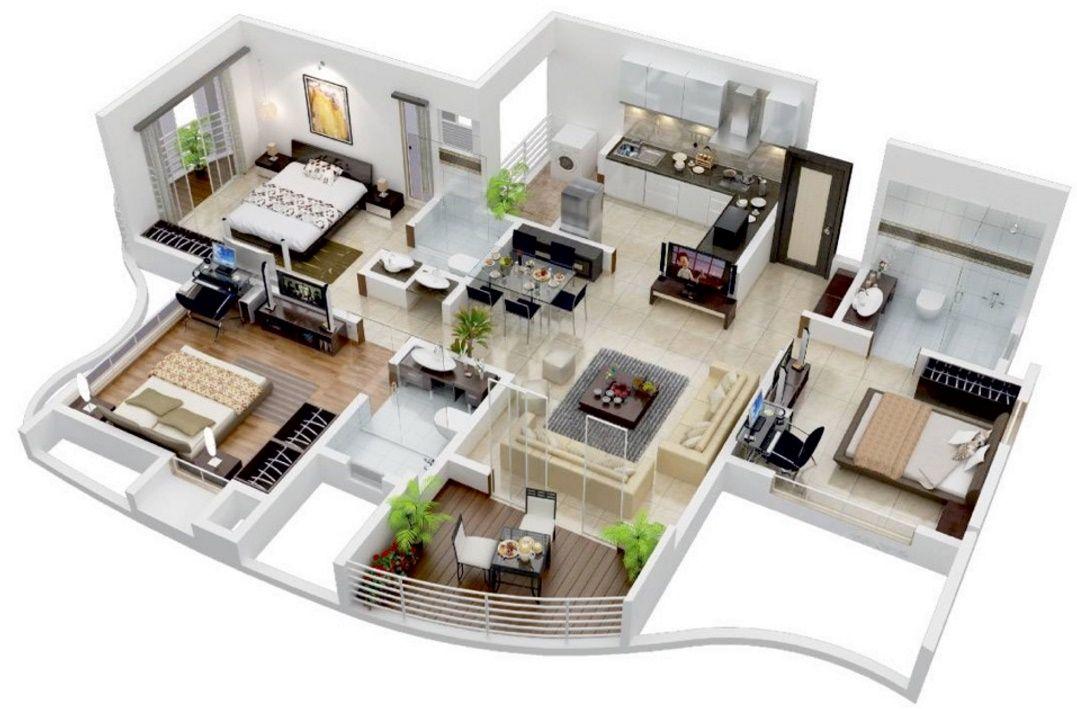 Planos para casas modernas ideas p la casa pinterest - Planos casas modernas ...