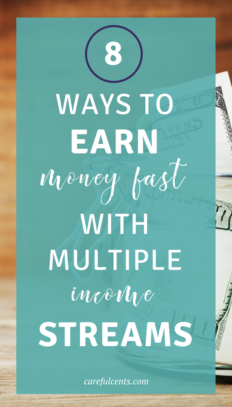 4 Different Ways To Generate Multiple Streams of Income